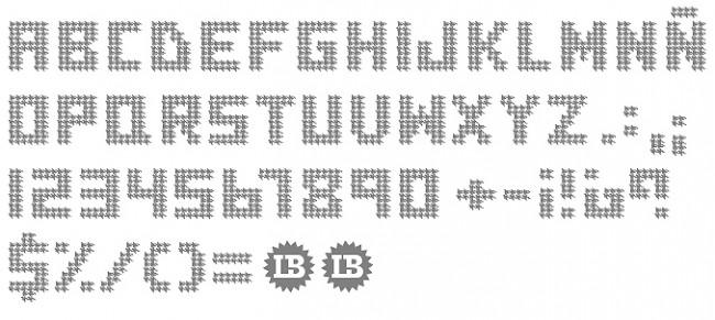 Tipografía Houndstooht