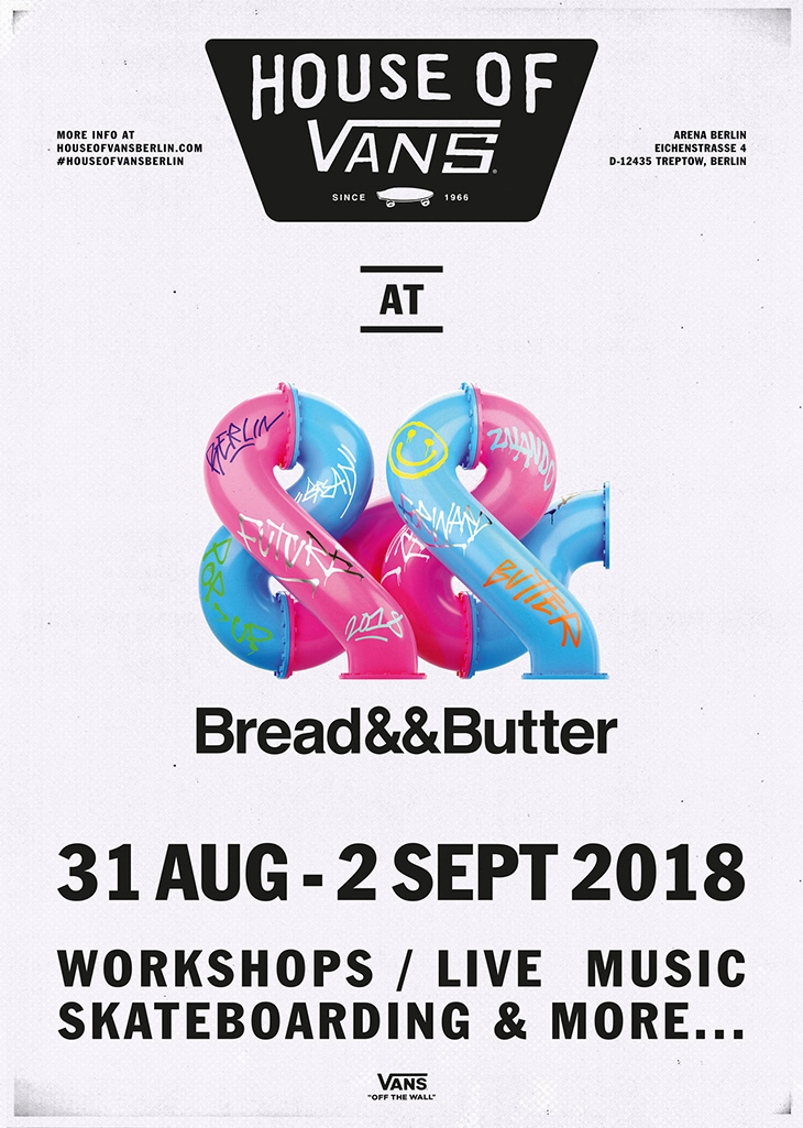 House of Vans en Bread and Butter 2018