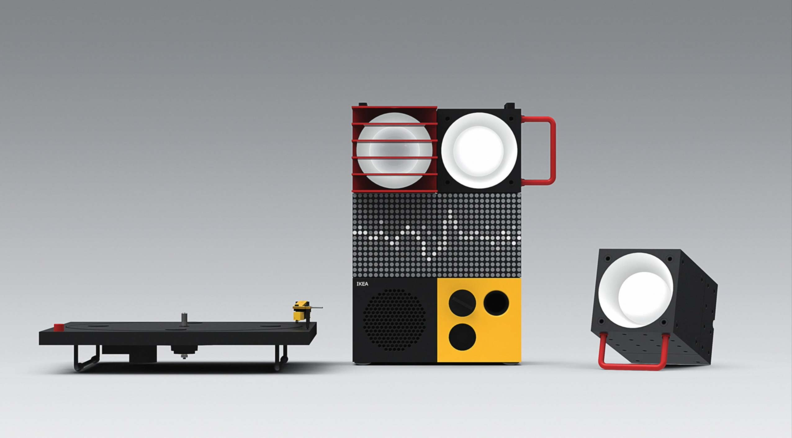 Ikea y Teenage Engineering: Equipo de sonido