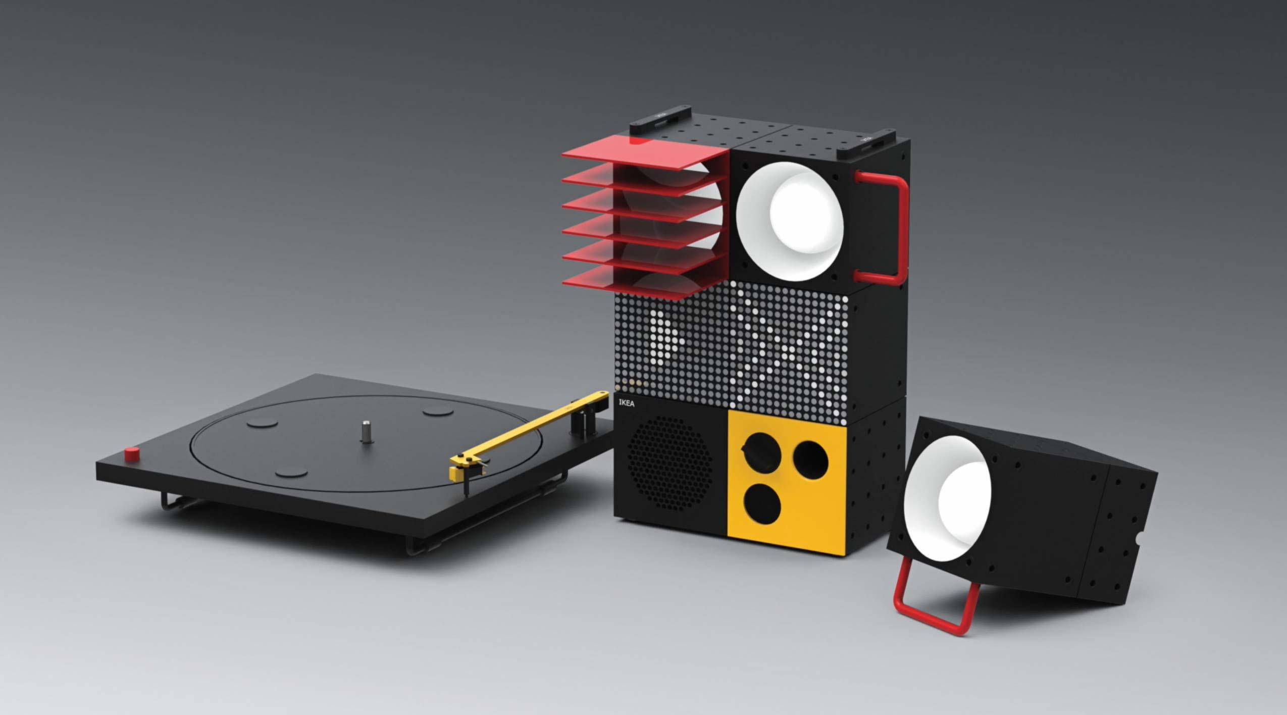 Ikea y Teenage Engineering: Equipo de sonido