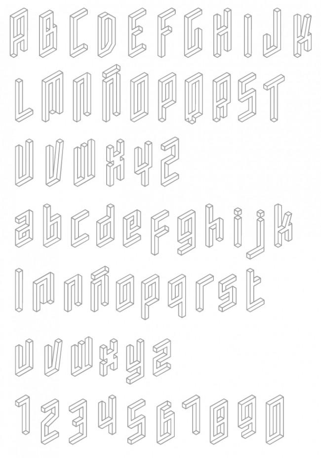 Tipografía Isosibilia
