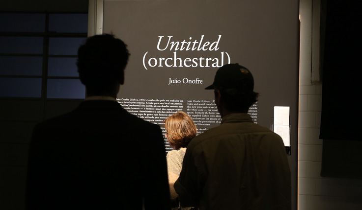 João Onofre. 'Untitled (Orchestral)'
