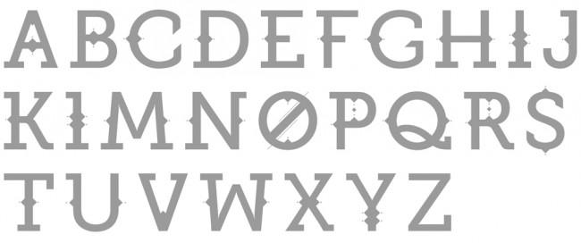 Tipografía Joker Type
