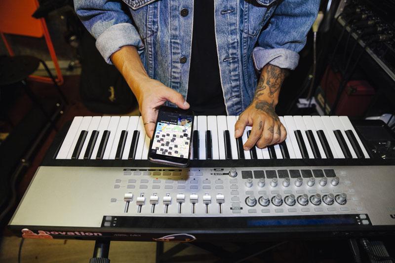 Juan Criollo y la aplicación musical Bandwidth