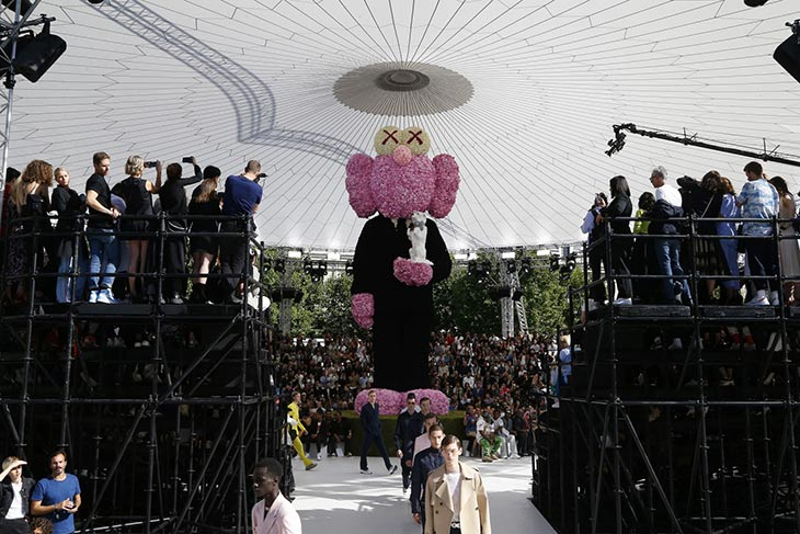 El primer desfile de Kim Jones para Dior Homme