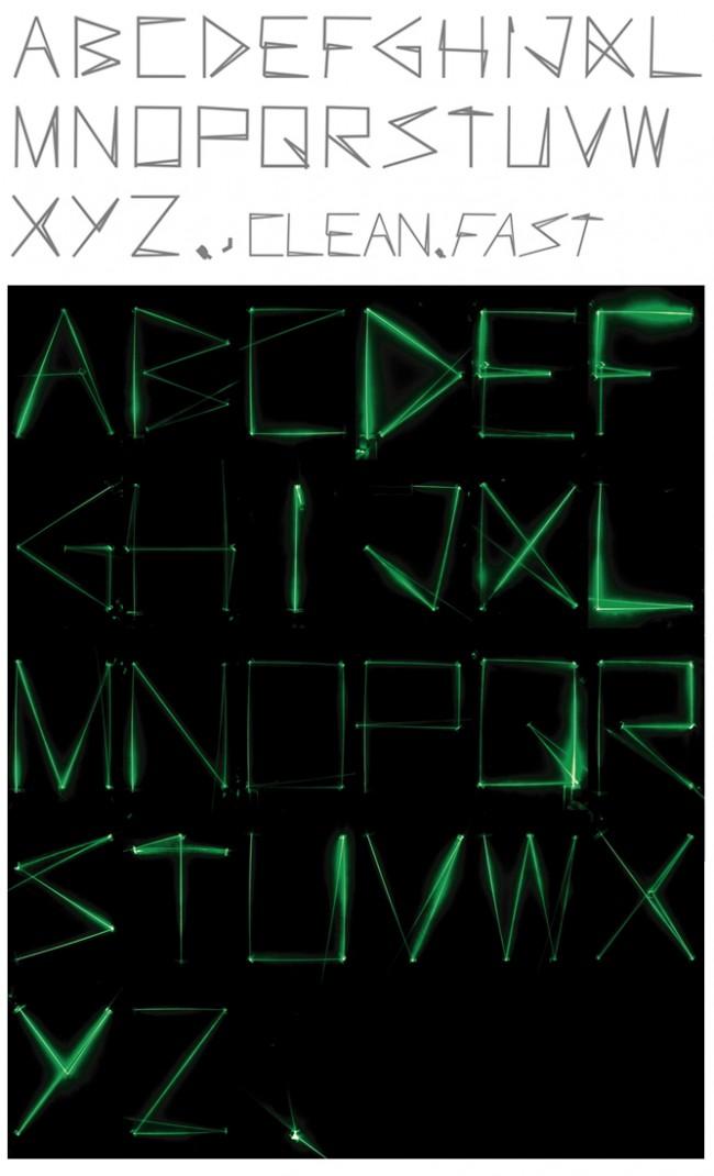 Tipografía Laser