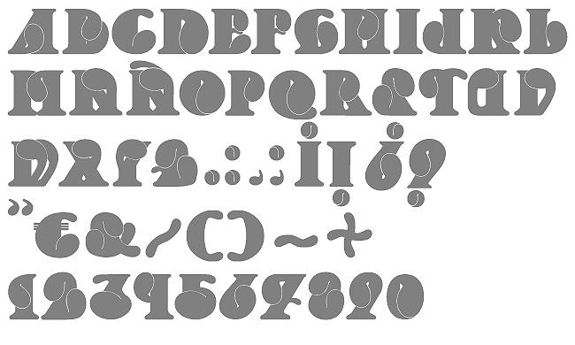 Tipografía Lobula