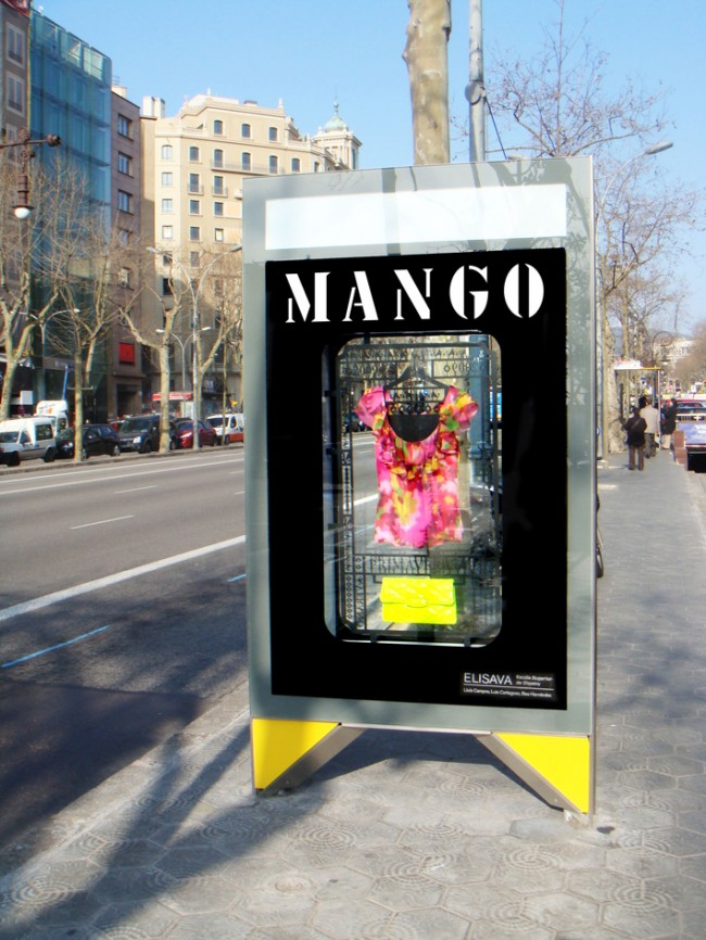 ESCAPARATES MANGO