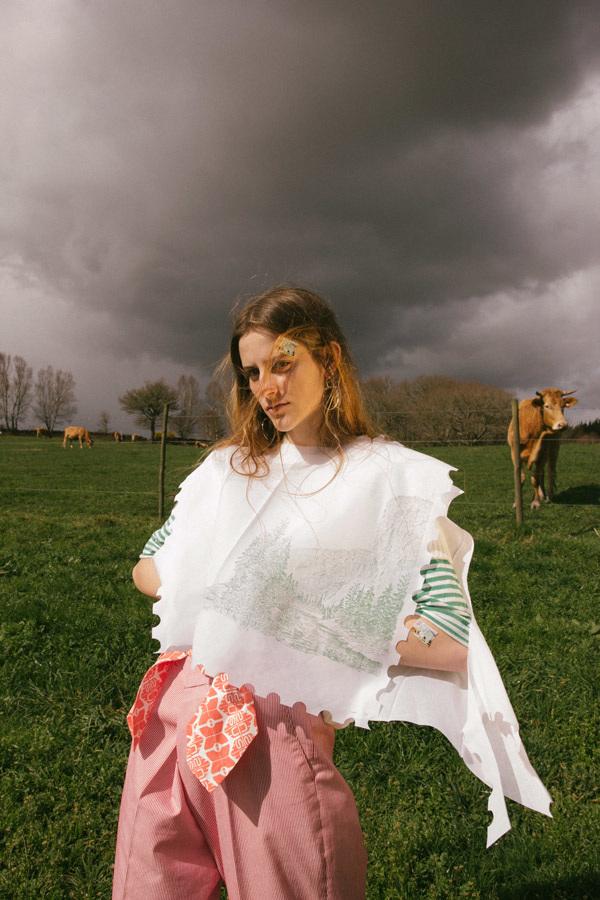 melania-freire-the-postman Melania Freire consigue unir la moda y el arte