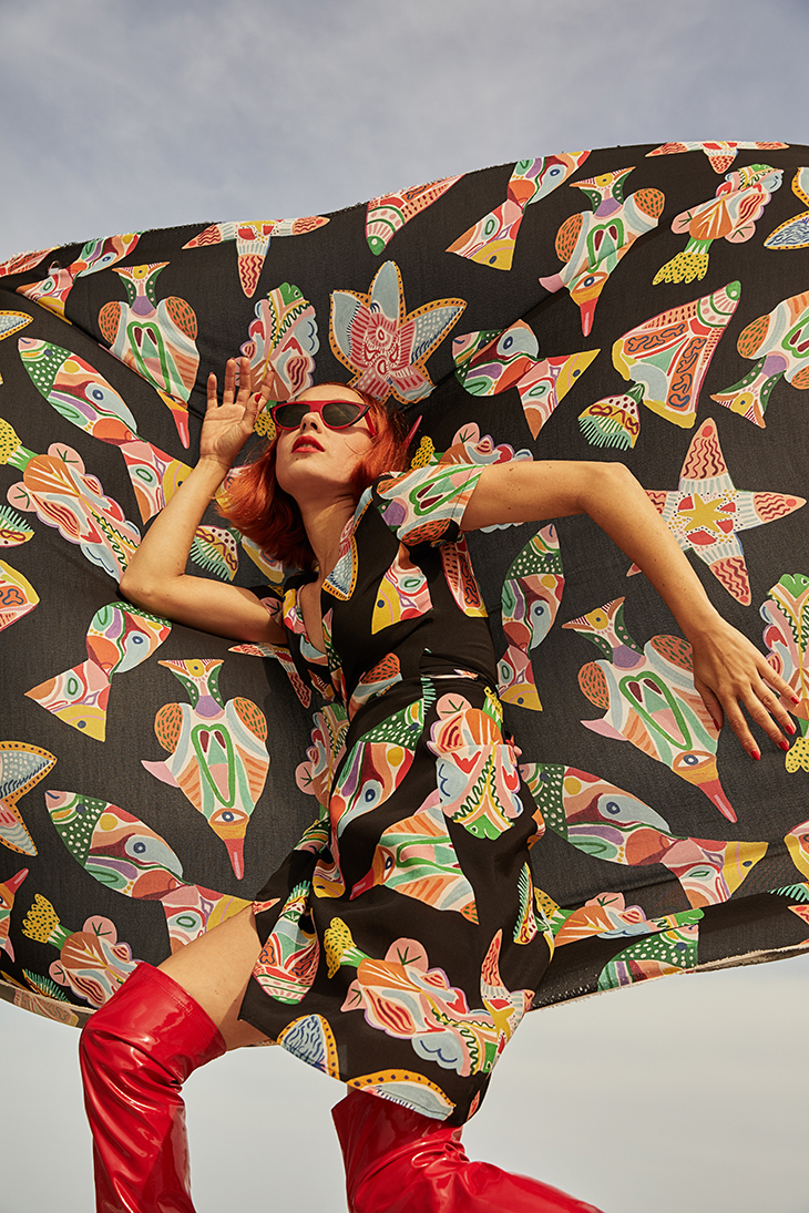 Miranda Makaroff x Desigual, lo Cool de lo Cool