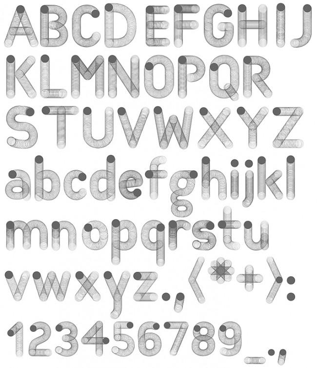 Tipografía Motion