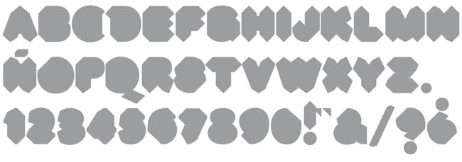 Tipografía Musac Blackletter