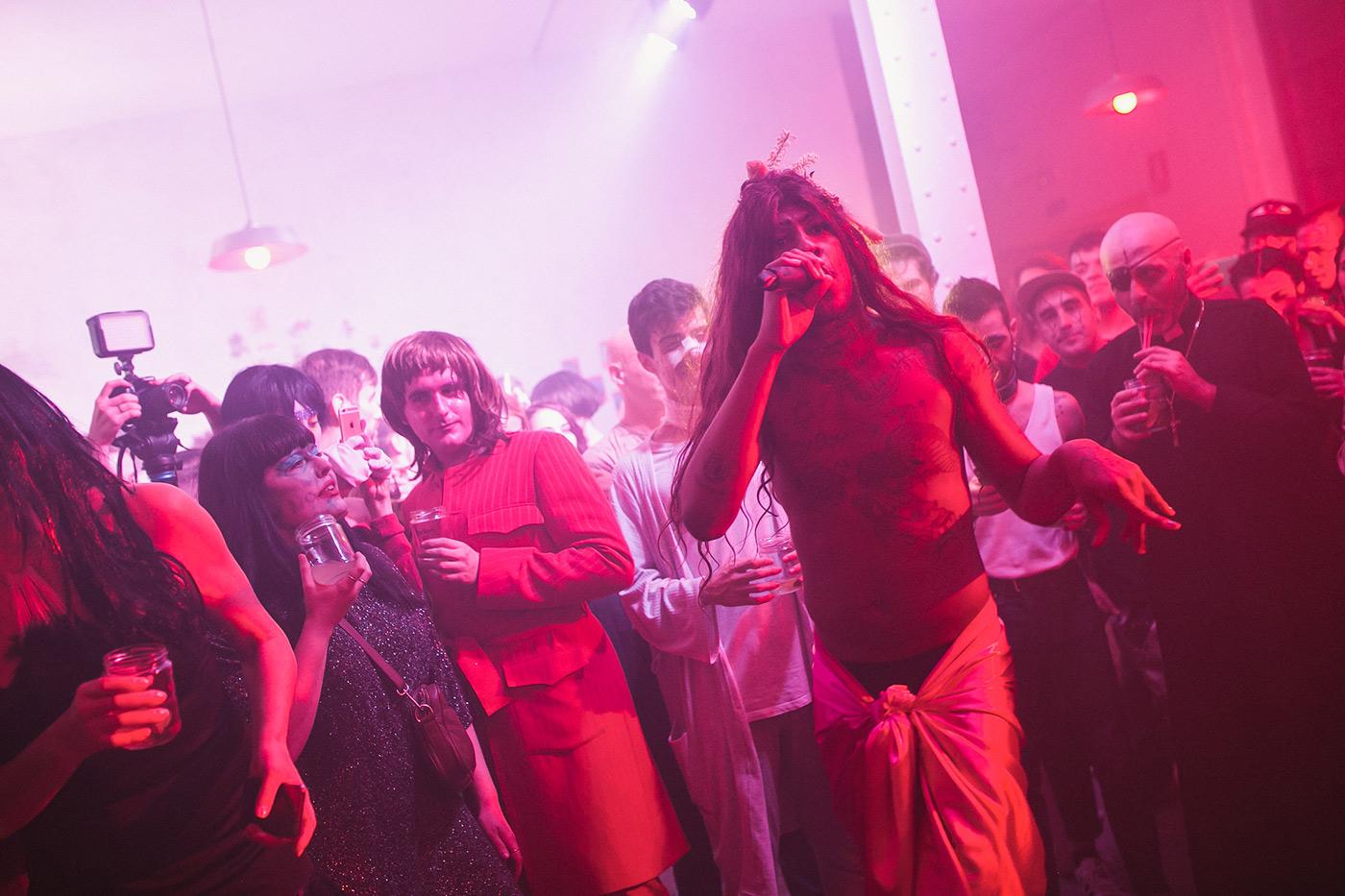 Halloween Transmoderno con Four Roses & Mykki Blanco