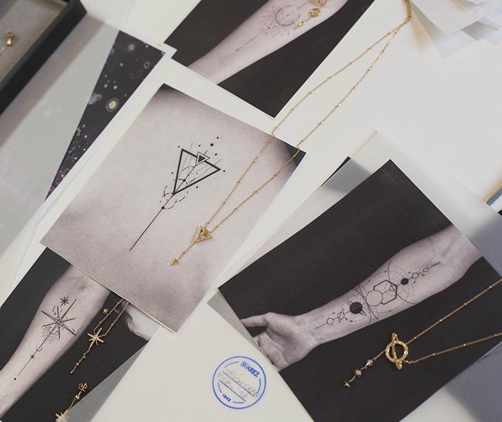 Tatuajes convertidos en joyas por Okan Uckun