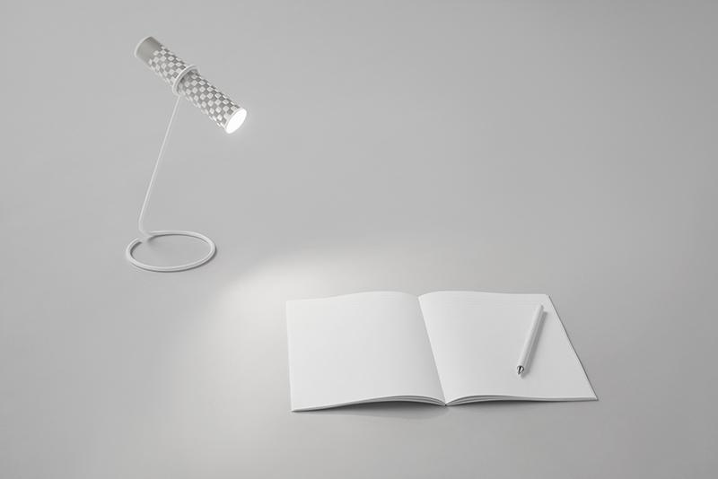 Paper-Torch, la linterna de papel y tinta de Nendo