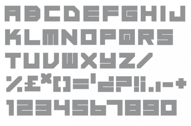 Tipografía Pile