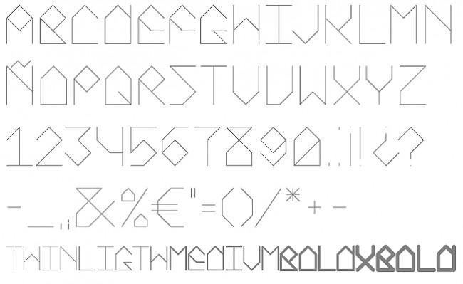 Tipografía Pomegranate