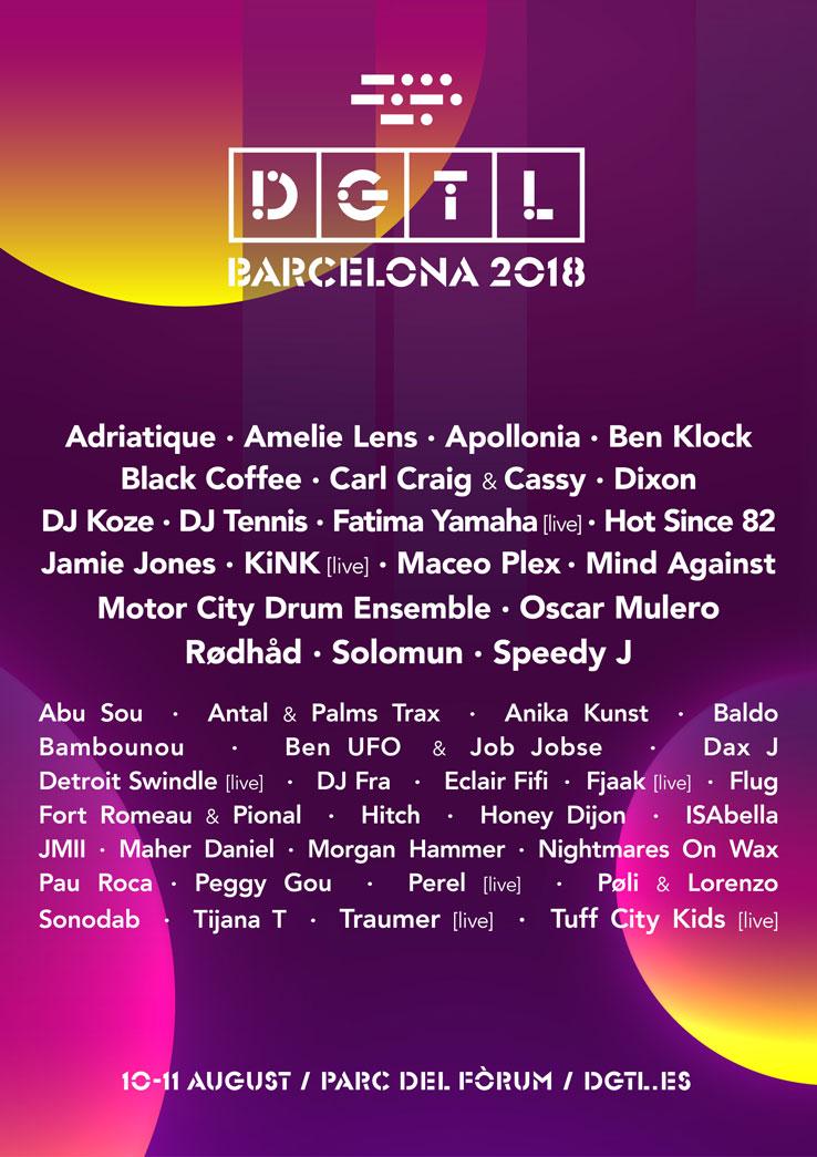 dgtl festival música elecetrónica barcelona