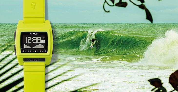 Un Reloj para Surf: Nixon The Base Tide Pro