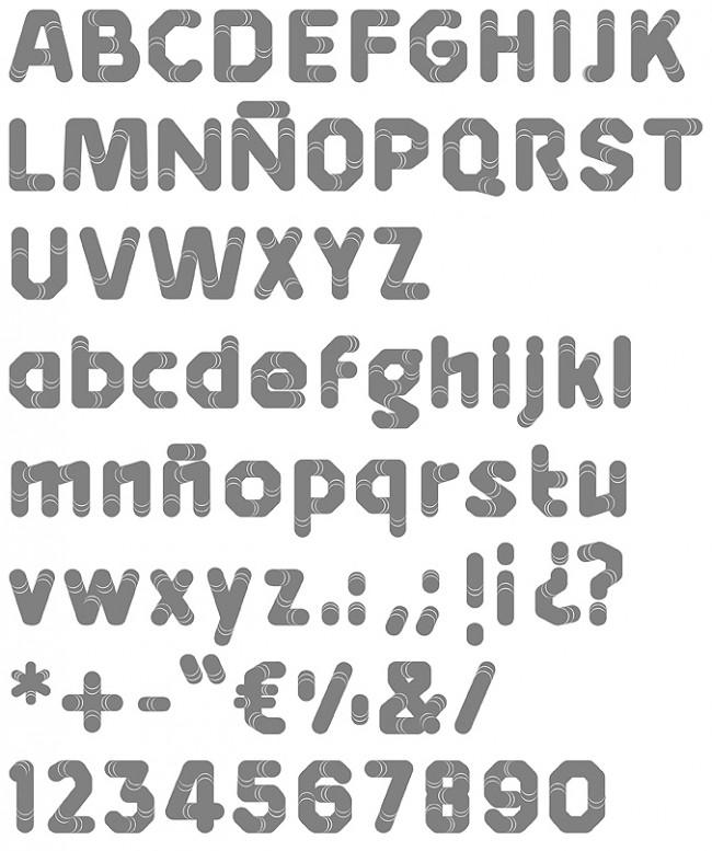 Tipografía Rubik