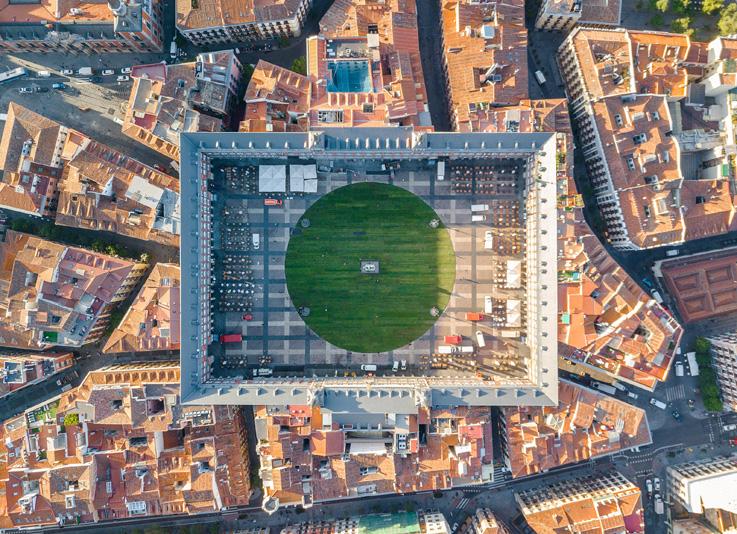 SpY sembró la Plaza Mayor de Madrid