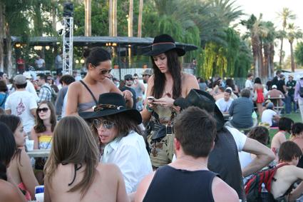 Coachella me camela