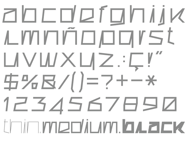 Tipografía Superconductive