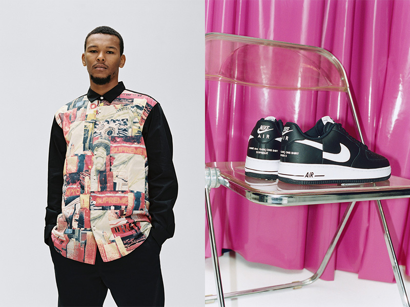 Supreme y CDG: Comunión streetwear y lujo