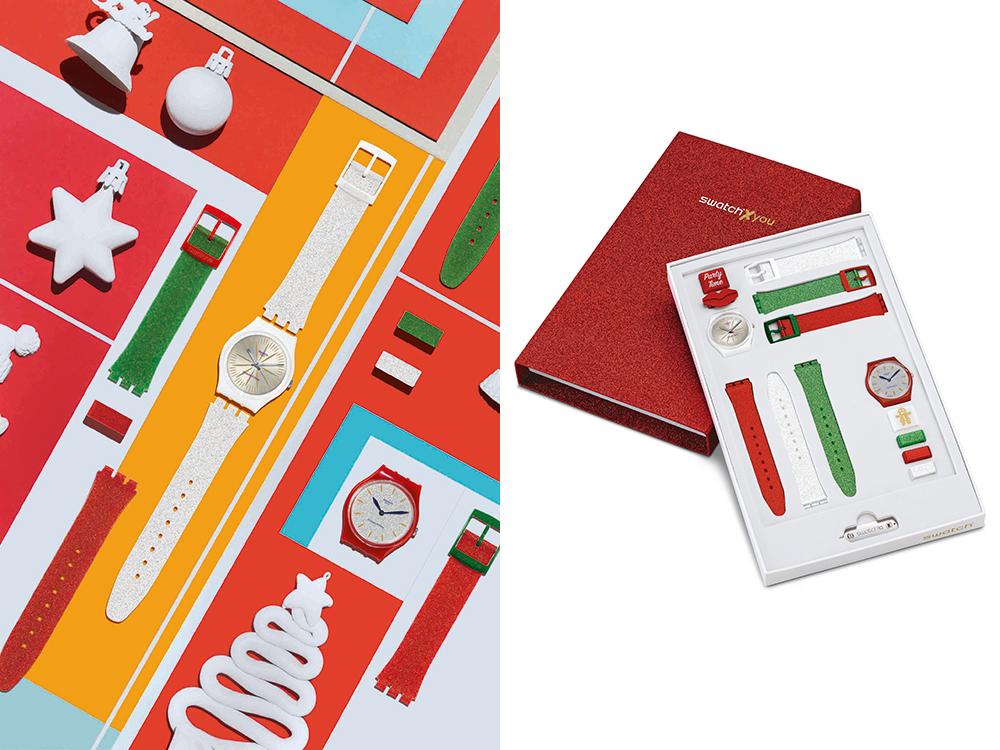 Esta Navidad diseña tu propio reloj Swatch