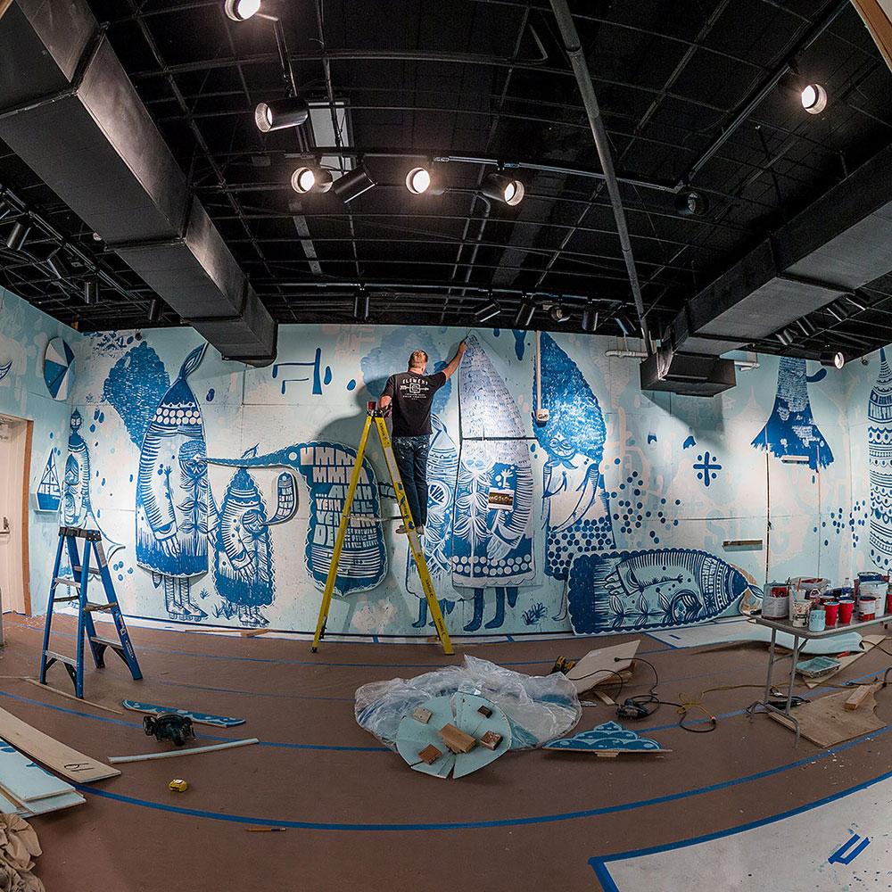 El Artista Thomas Campbell y su Colección para Element