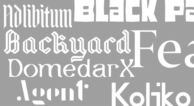 Nuevas tipografías gratis