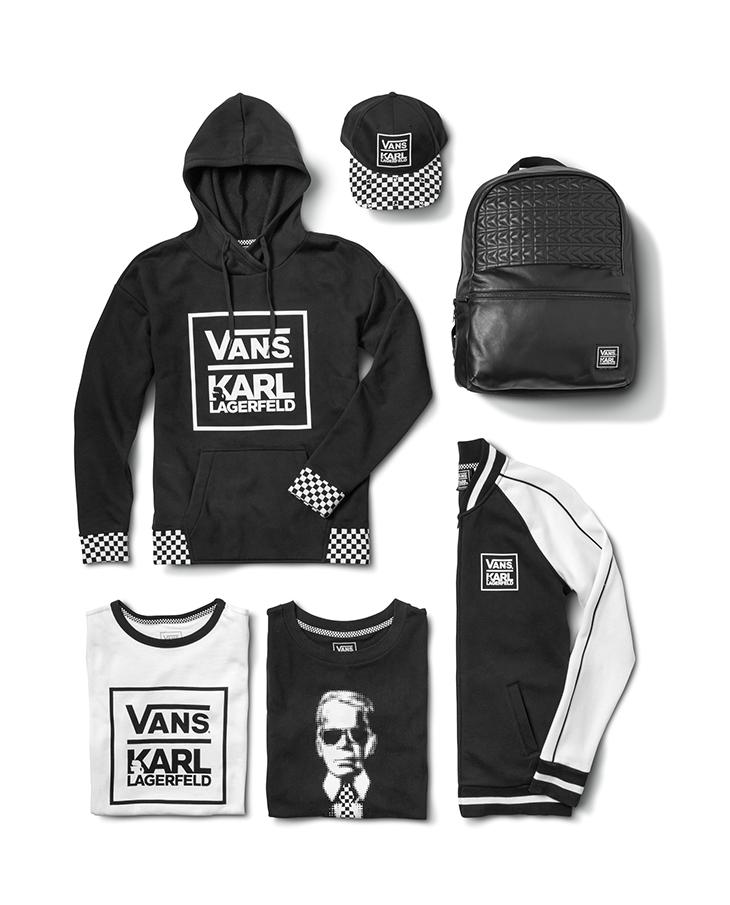Colección Vans x Karl Lagerfeld