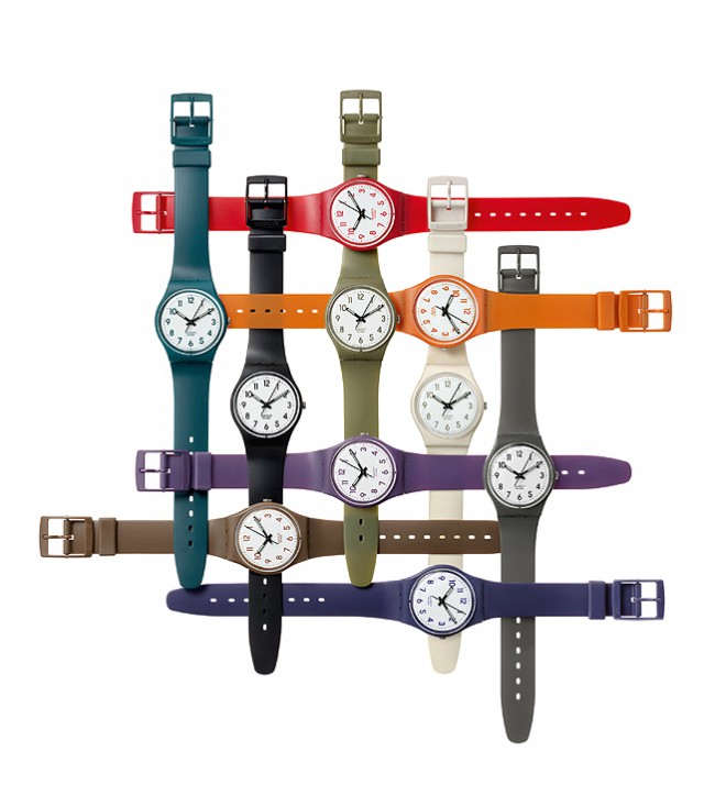 SWATCH COLOUR CODES COLLECTION