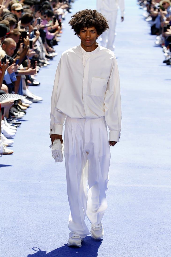 Puesta de Largo de Virgil Abloh en Louis Vuitton