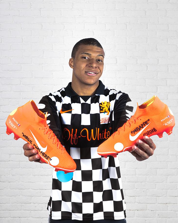 Botas de Fútbol de Culto x Nike + Virgil Abloh