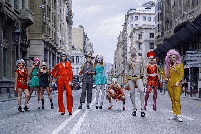 Woolman Family en el Macba de Barcelona