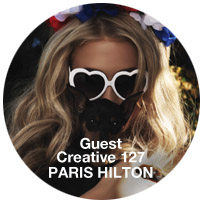 Guest Creative: PARIS HILTON