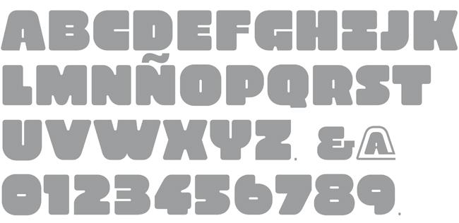 Tipografía Xocoalt