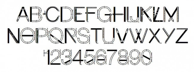 Tipografía Craftfont
