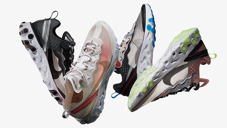Nuevas Zapatillas Nike React Element 87