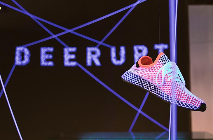 las Zapatillas Deerupt de la Fiesta Render de Barcelona