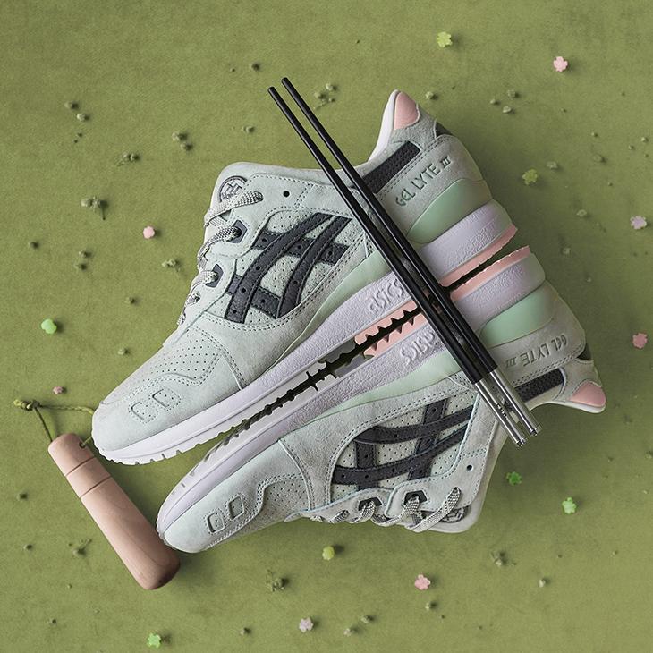 El Wasabi, Musa de las Sneakers Asics Tiger Gel-Lyte