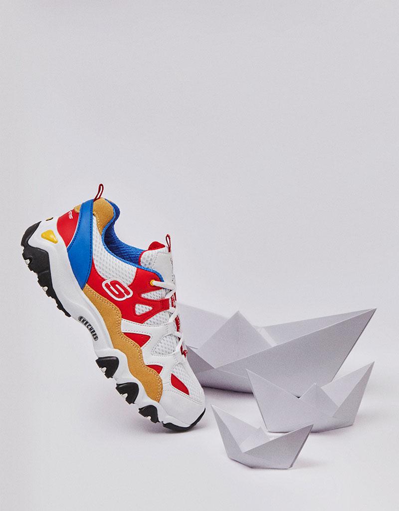 Skechers D'Lites y las zapatillas chunky